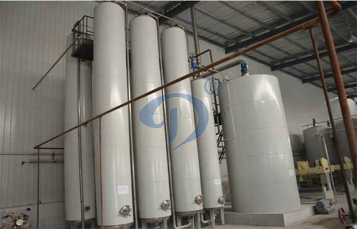Spray liquefied system