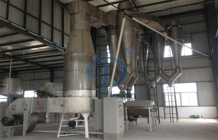 The feature of sweet potato starch processing line
