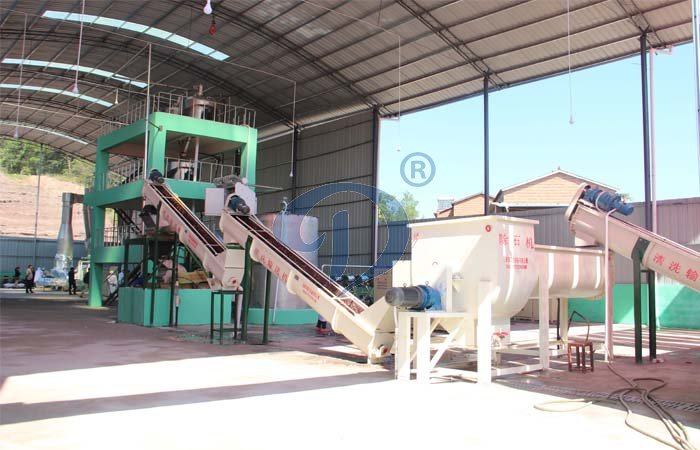 potato starch production plant