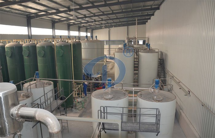 tapioca syrup production plant