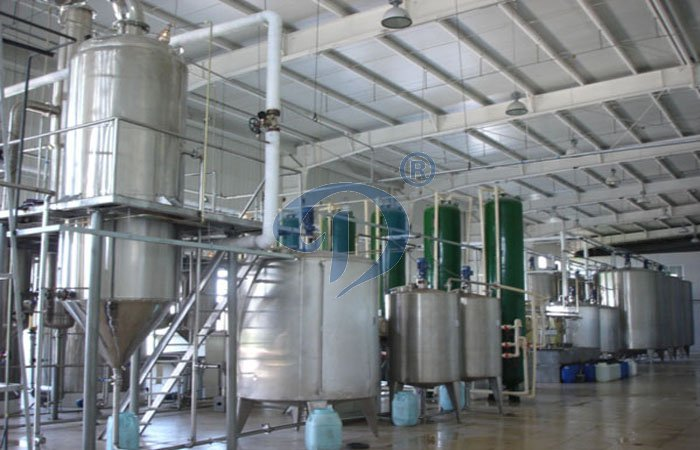Potato starch glucose production line