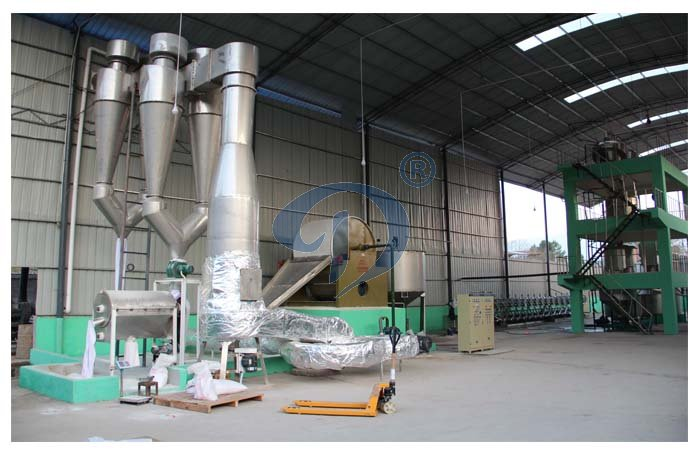 What's the working principle of sida starch dryer?