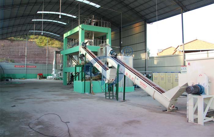 Tapioca starch processing machine