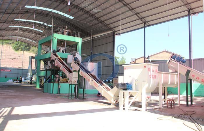 The process of tapioca starch production