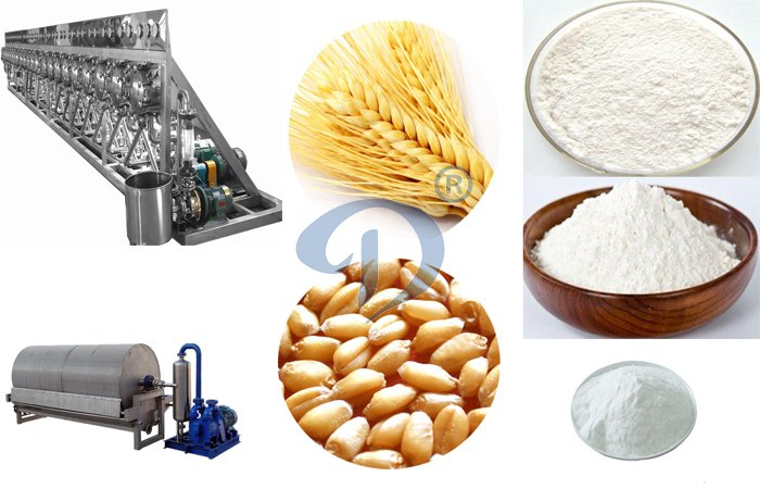 What is wheat starch flour ?