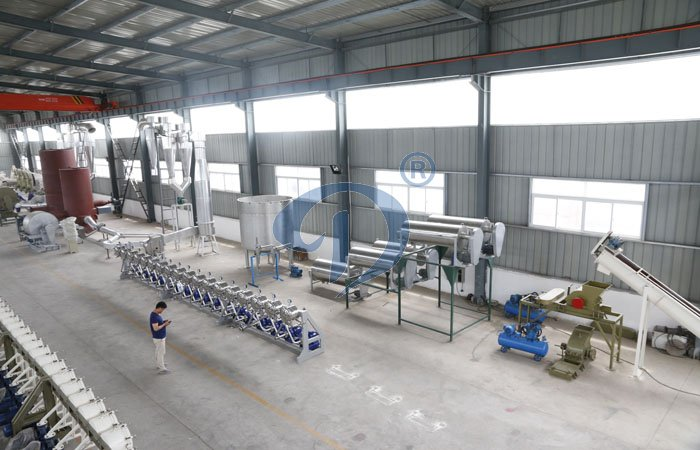 10ton potato starch production line shipping this week.