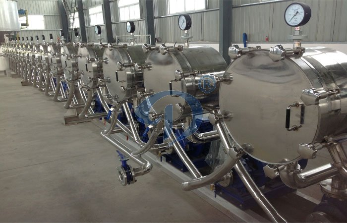 What is the starch processing machine hydro cyclone working principle ?