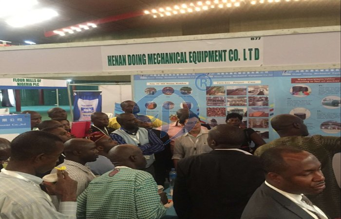 Cassva processing machine and glucose processing plant exhibition