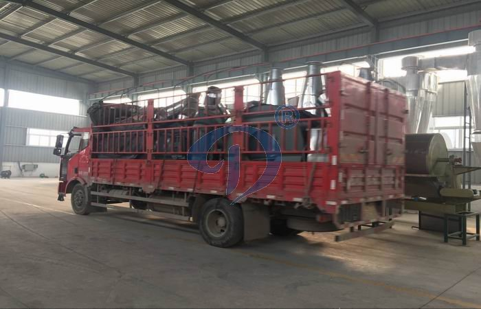 Potato starch processing machine shipment to our customer