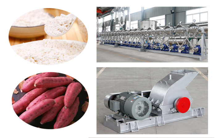 How to process sweet potato into starch by sweet potato starch production machine?