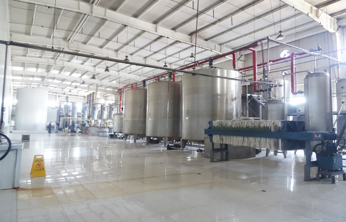 corn syrup production machine
