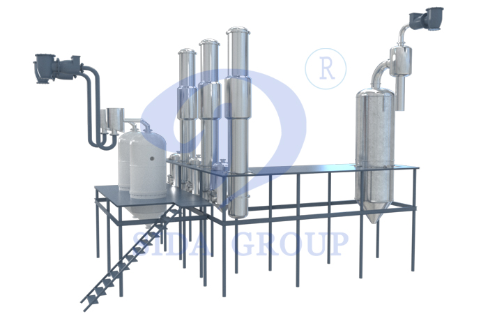 corn syrup production equipment