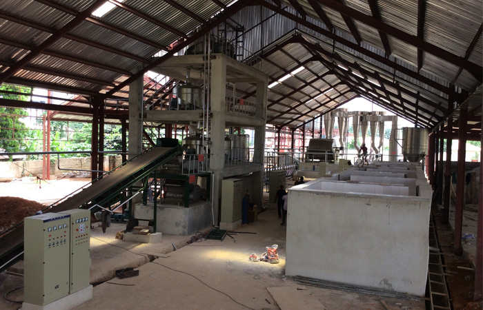 cassava starch production project in Nigeria