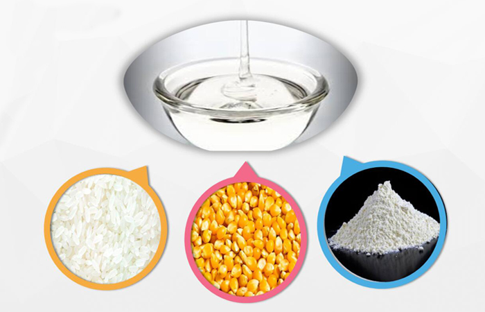 raw material of glucose syrup processing plant