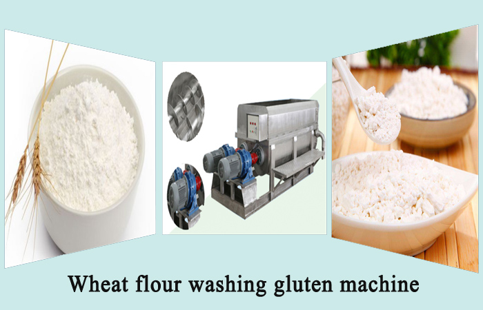 How to make gluten from wheat flour?