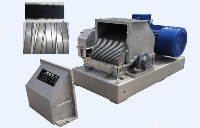 Rasper machine during the potato processing machine