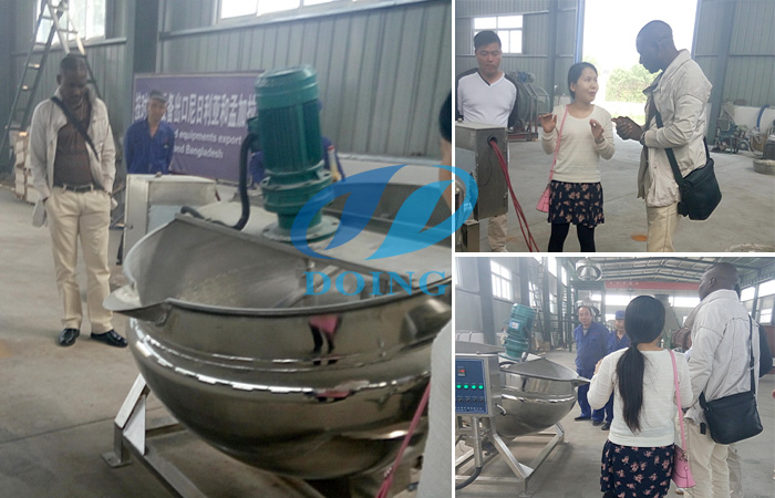 Congratulation! Large cassava garri production line outlet to Nigeria