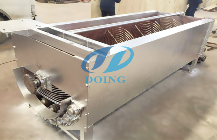 Cassava peeling machine