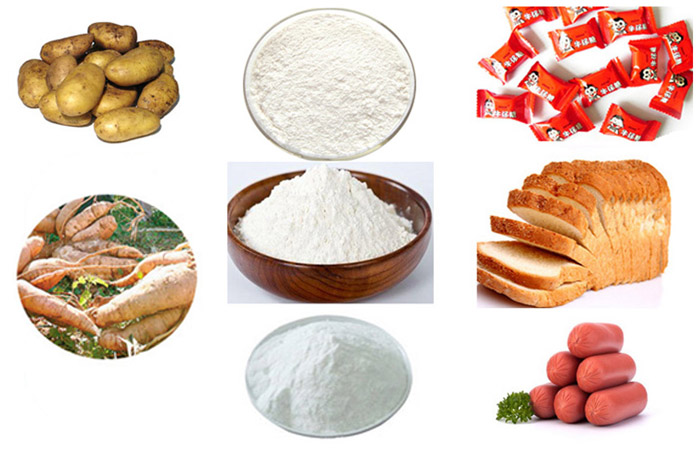 Widely cassava starch uses