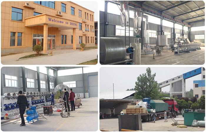 sweet potato starch processing plant project