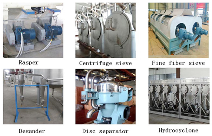 potato starch extraction process