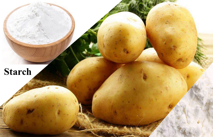 How potato starch is made?