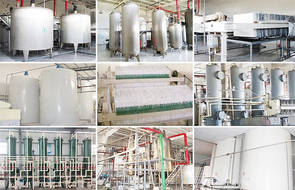 glucose syrup production machine