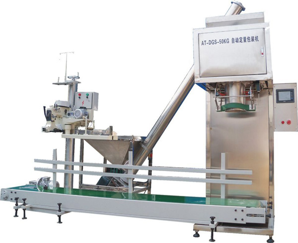 potato starch packing machine