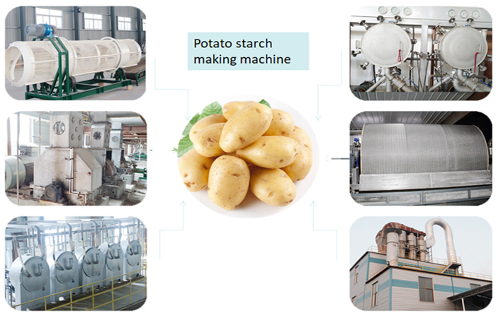 How to produce potato starch?