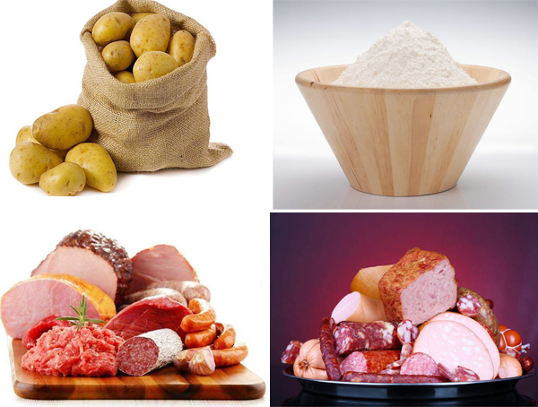 potato starch uses