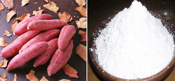sweet potato& sweet potato starch