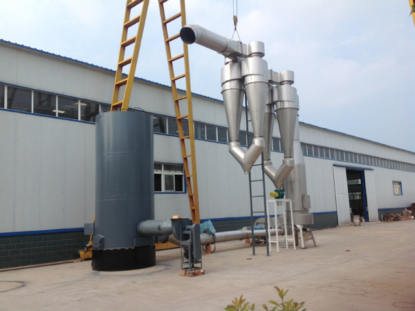 What's the working principle of starch dryer?