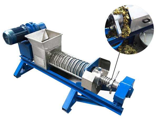 Industrial screw press