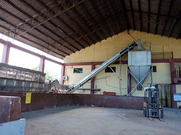 cassava starch production plant in Ghana