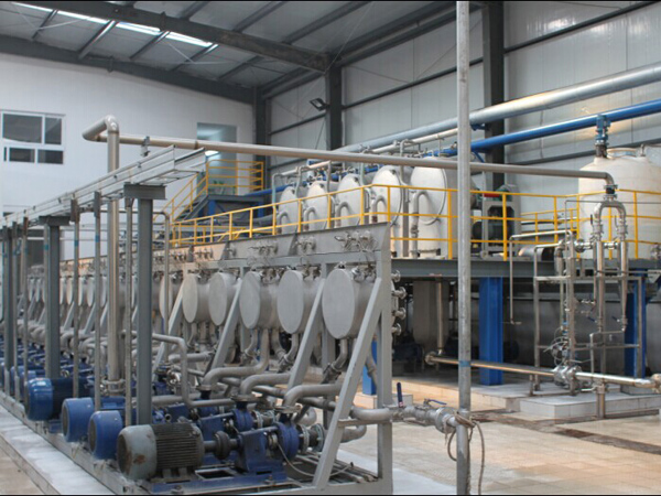Potato starch processing plant operation