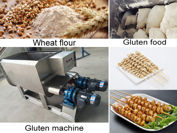 Seitan making machine