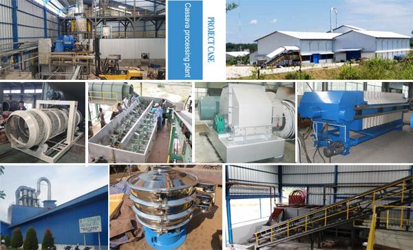 Cassava flour making equipment process_Cassava flour