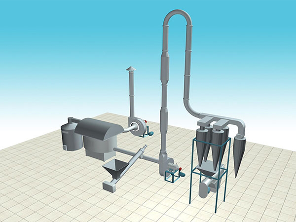 starch drying equipment