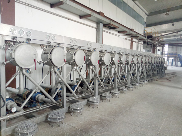 Hydrocyclone starch refining for starch processing