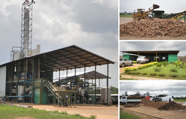cassava starch production plant
