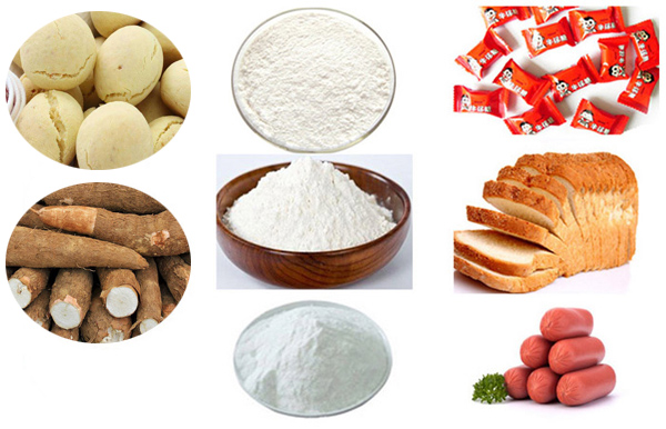cassava starch usage