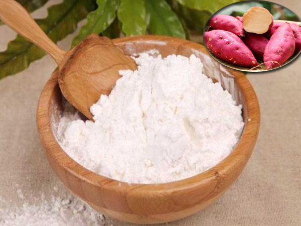 Sweet potato starch uses
