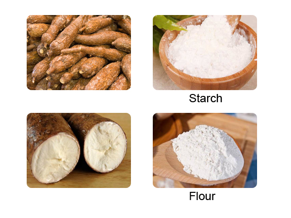 what's the difference between cassava flour and tapioca flour