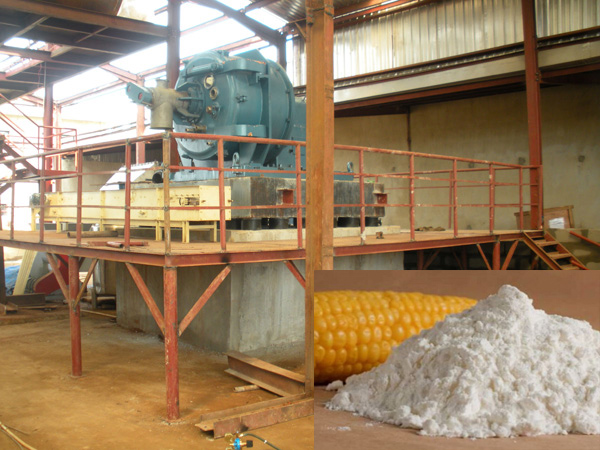 Corn starch production line