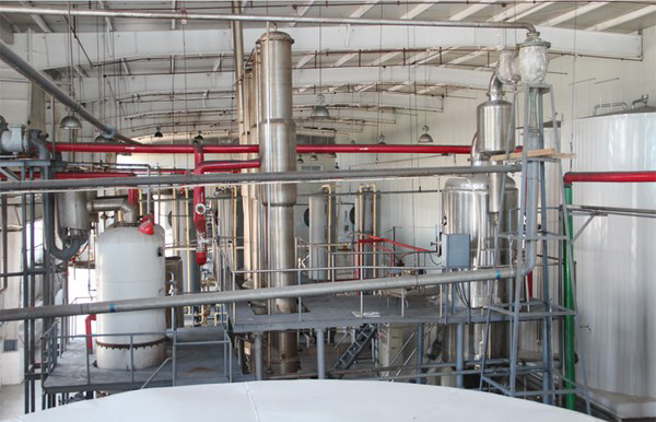 Maize glucose syrup processing line