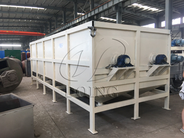 Paddle cassava washing machine