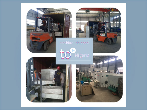 60 tons rice milling machine shipped to customers in Nigeria