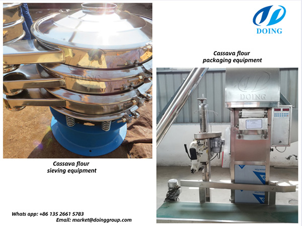 cassava flour making equipment