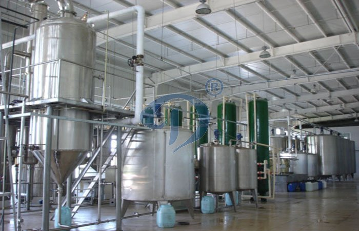 Glucose syrup production line