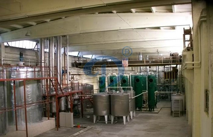 Rice glucose production line